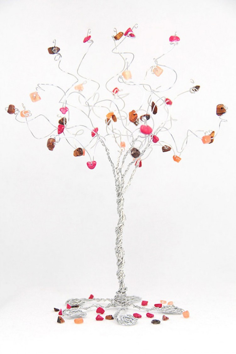 Fall Wedding Cake Topper Tree Custom Picture in Wedding Cake