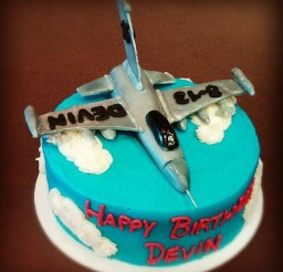 1024x1024px Fighter Jet Birthday Cake Picture in Birthday Cake