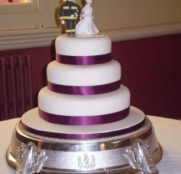1024x1365px Firefighter Bride And Groom Wedding Cake Picture in Wedding Cake