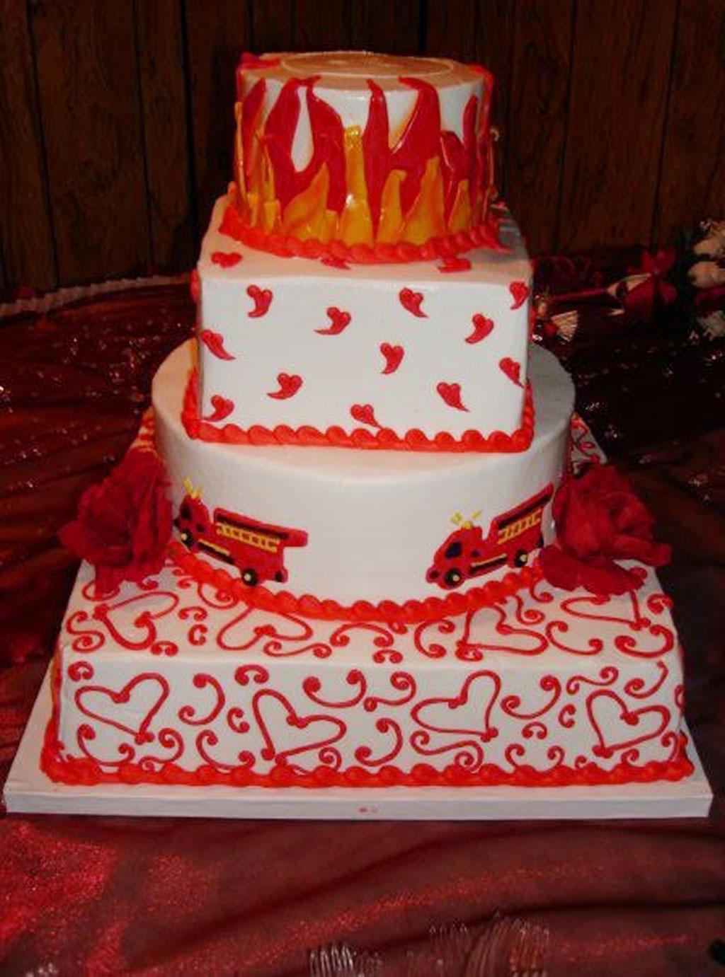 Fire Fighter Wedding Cake Wedding Cake Cake Ideas by Prayfacenet
