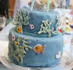 1024x1534px Fishing Themed Birthday Cakes Picture in Birthday Cake