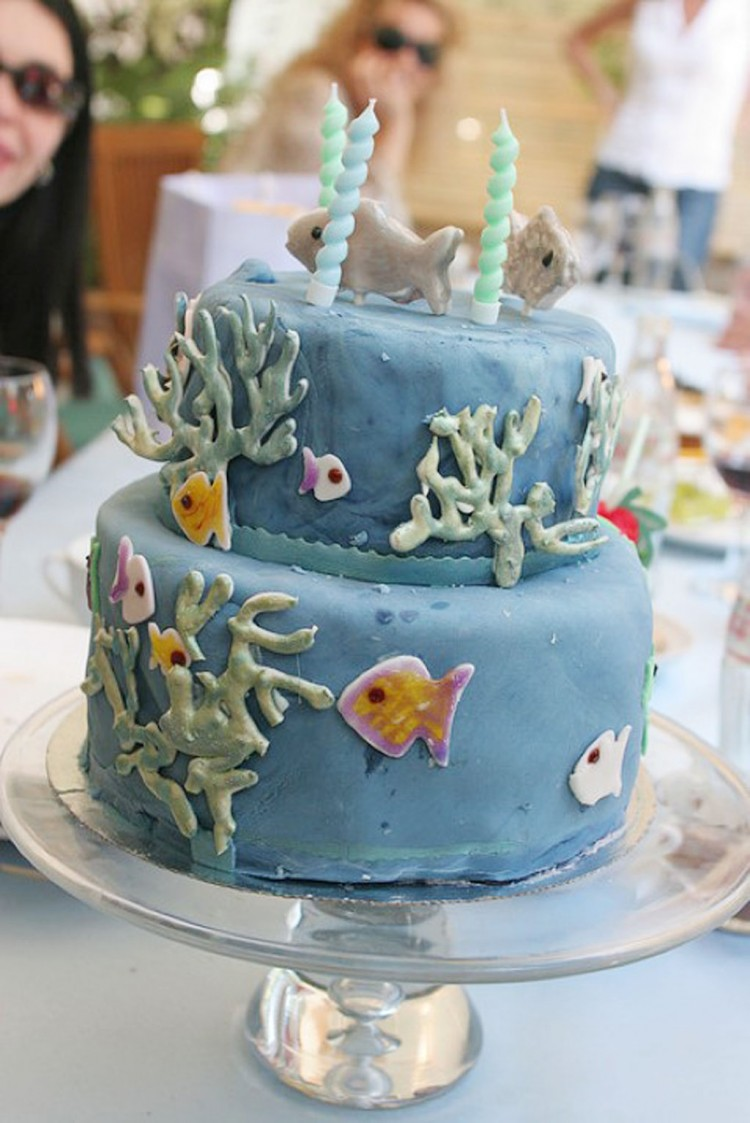 Fishing Themed Birthday Cakes Picture in Birthday Cake
