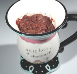 1024x1126px Five Minute Chocolate Mug Cake Picture in Chocolate Cake
