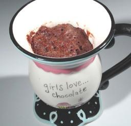 1024x1126px Five Minute Chocolate Mug Cake Picture in Chocolate Cake