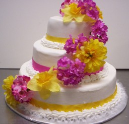 1024x1033px Floral Style Wedding Cakes Picture in Wedding Cake