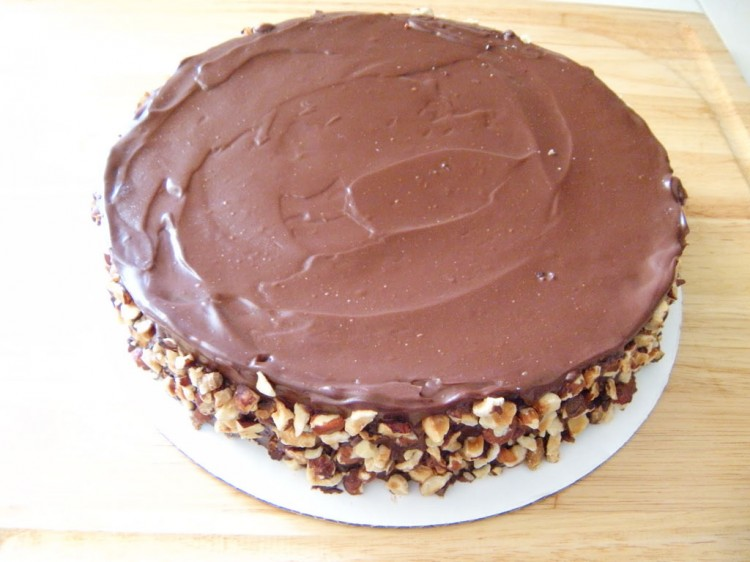 Flourless Chocolate Cake Hazelnuts Picture in Chocolate Cake