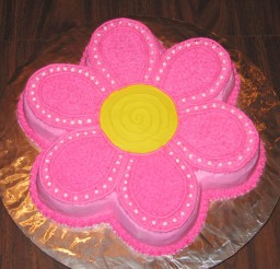 1024x1024px Flower Birthday Cake Ideas Picture in Birthday Cake