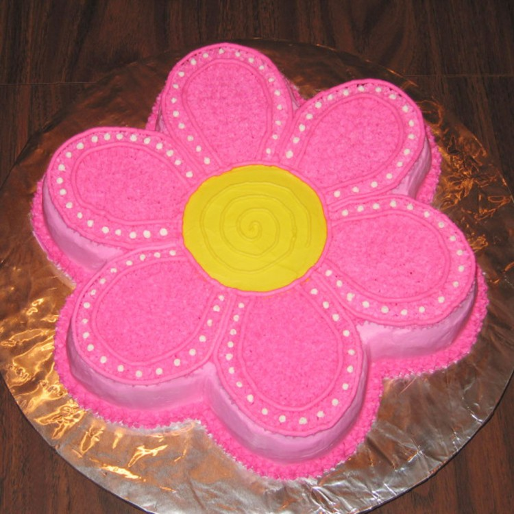 Flower Birthday Cake Ideas Picture in Birthday Cake