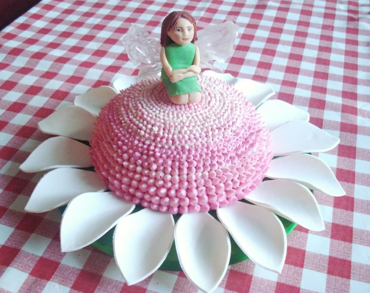 Flower Fairy Birthday Cakes Picture in Birthday Cake