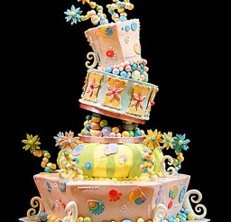 1024x1372px Fun And Whimsical Wedding Cakes Picture in Wedding Cake