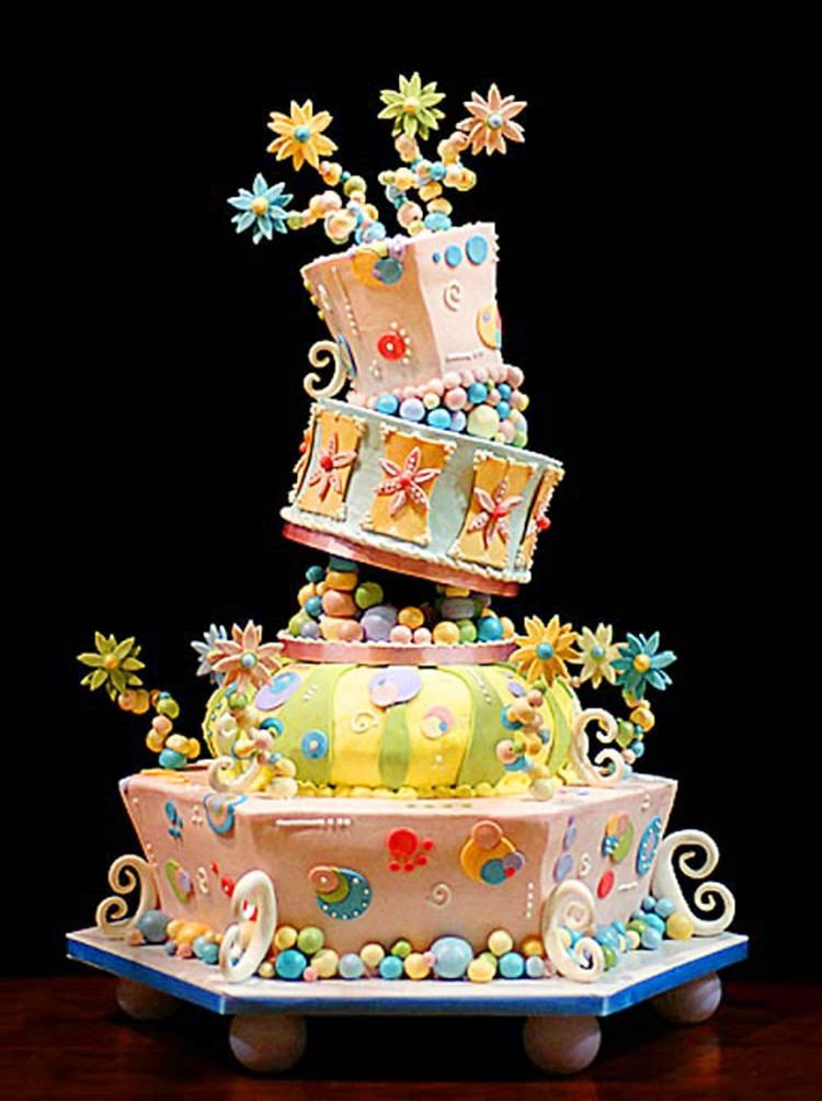 Fun And Whimsical Wedding Cakes Picture in Wedding Cake