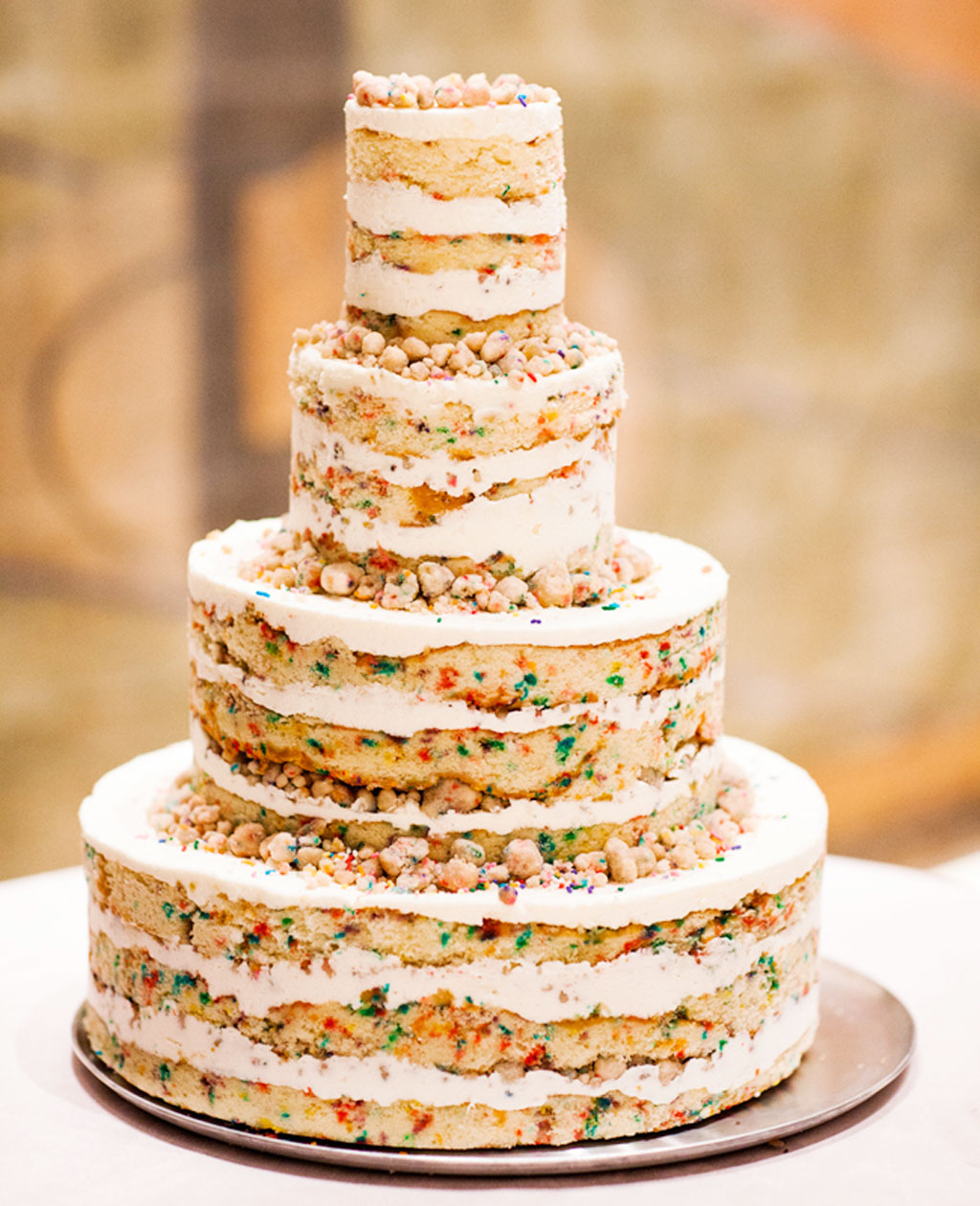 Funfetti Wedding Cake Decor Wedding Cake - Cake Ideas by ...