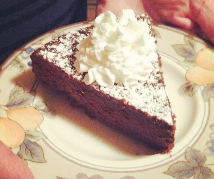 Garbanzo Bean Chocolate Cake Picture in Chocolate Cake