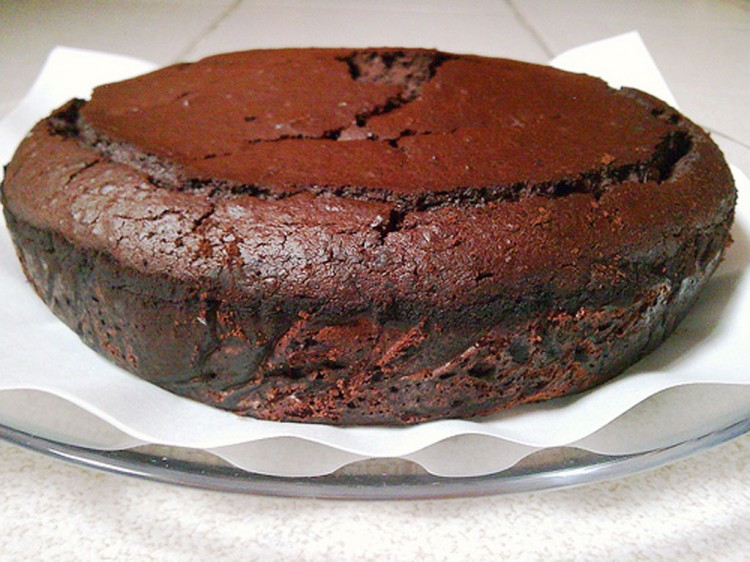 Garbanzo Bean Flourless Chocolate Cake Picture in Chocolate Cake