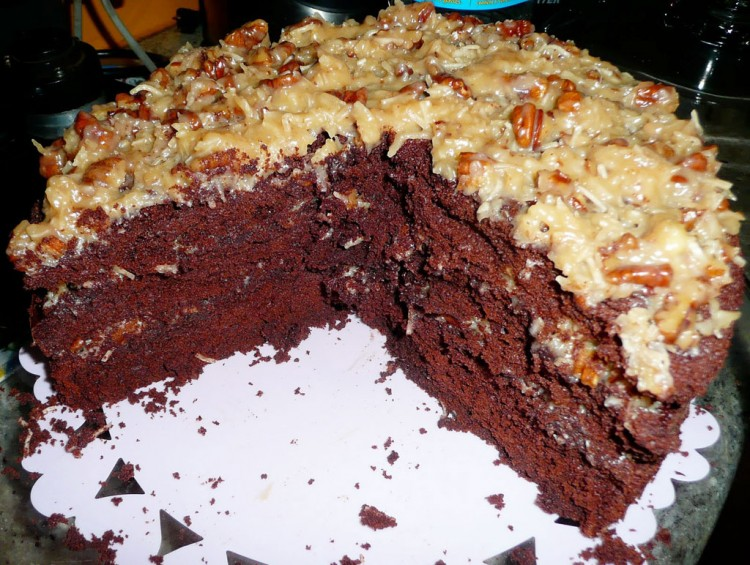 German Chocolate Cakes Picture in Chocolate Cake