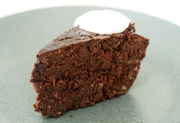 Gluten Free Garbanzo Bean Flourless Chocolate Cake Picture in Chocolate Cake