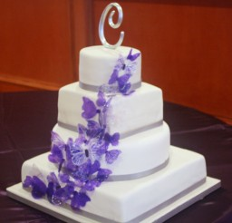 1024x942px Gracious Butterfly Wedding Cakes Picture in Wedding Cake