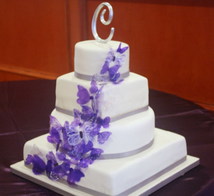 Gracious Butterfly Wedding Cakes Picture in Wedding Cake