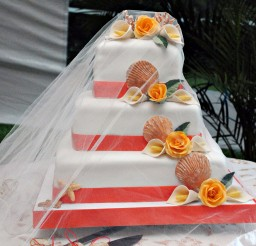1024x1530px Helen G Events Jamaica Wedding Cakes Picture in Wedding Cake