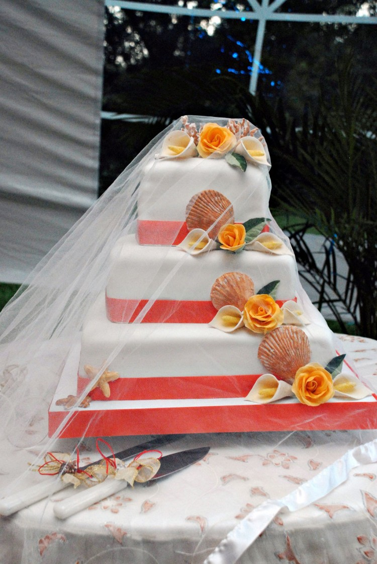 Helen G Events Jamaica Wedding Cakes Picture in Wedding Cake