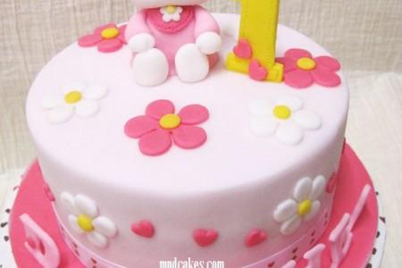 Small Birthday Cake Design : Hello Kitty 1st Birthday Cake Design Birthday Cake - Cake ...