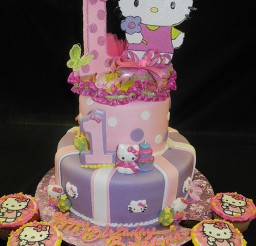 1024x1365px Hello Kitty Birthday Cake Picture in Birthday Cake