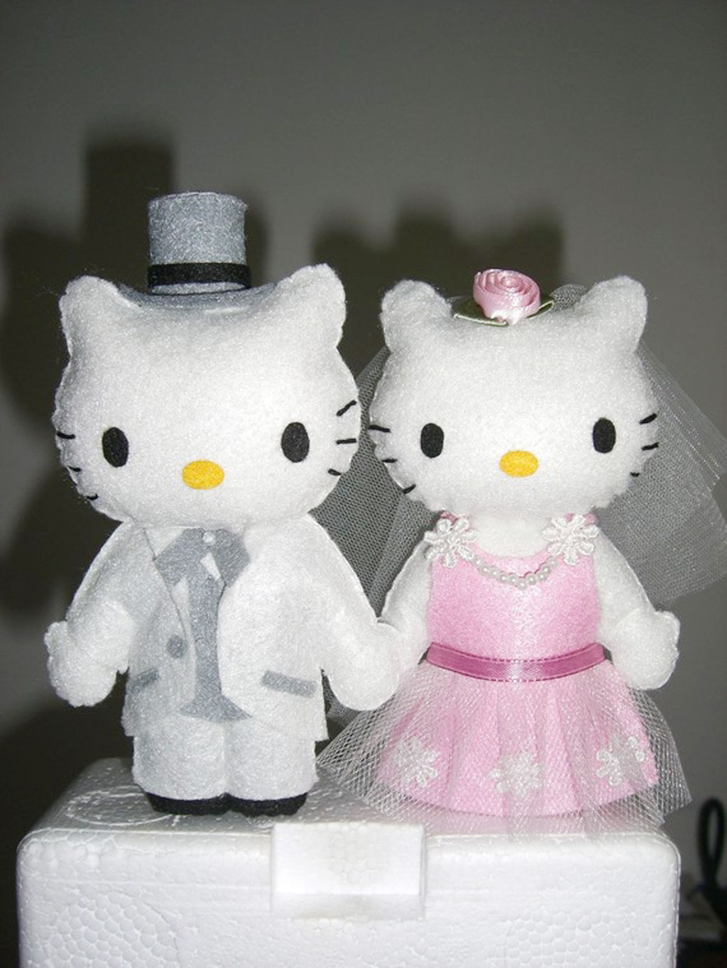 Hello Kitty And Daniel Wedding Cake Topper Wedding Cake