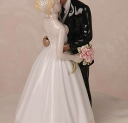 1024x1540px Interracial Couple Wedding Cake Topper Picture in Wedding Cake