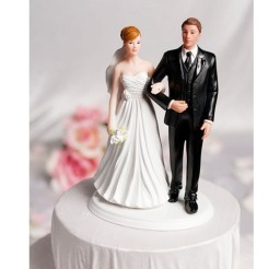 1024x1024px Interracial Multiple Ethnicities Wedding Cake Toppers Picture in Wedding Cake