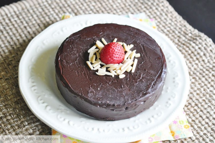 Julia Child U2019s Chocolate Almond Cake For Baking Partners Picture in Chocolate Cake