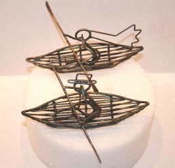 1024x1008px Kayak Wedding Cake Toppers Picture in Wedding Cake