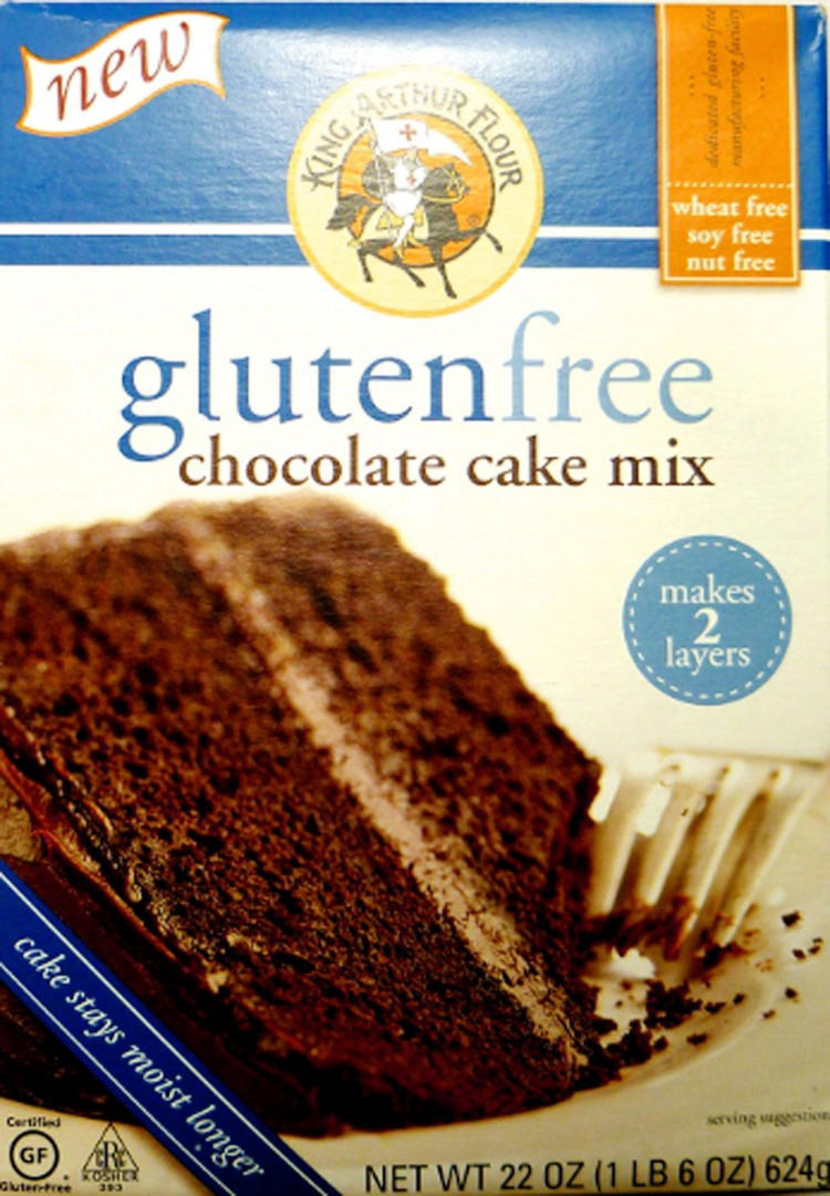 King Arthur Flour Gluten Free Chocolate Cake Picture in Chocolate Cake