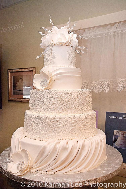 Konditor Meister Wedding Cake Idea Picture in Wedding Cake