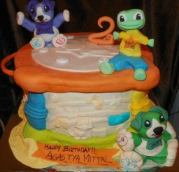 1024x950px Leapfrog Drum For Childrens Birthday Cakes Picture in Birthday Cake