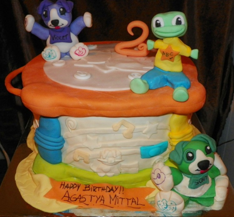Leapfrog Drum For Childrens Birthday Cakes Picture in Birthday Cake