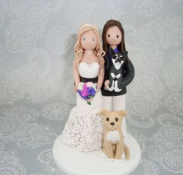1024x769px Lesbian Wedding Cake Topper Picture in Wedding Cake