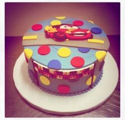 1024x1024px Lightning McQueen Birthday Cake Picture in Birthday Cake