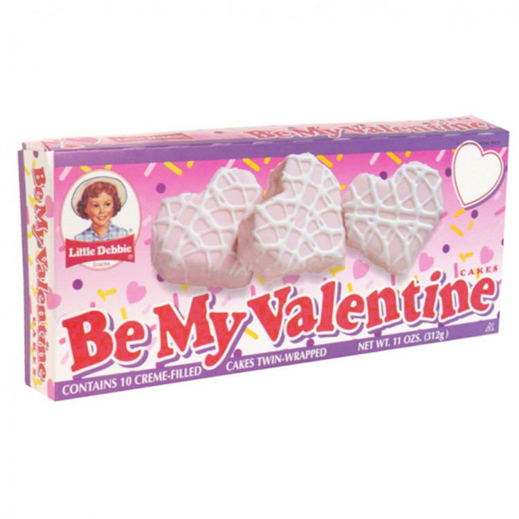 Little Debbie Be My Valentine Cakes Picture in Valentine Cakes