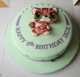 1024x768px Littlest Pet Shop Birthday Cake Picture in Birthday Cake