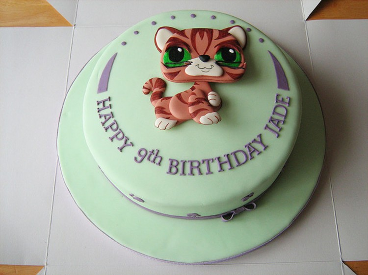 Littlest Pet Shop Birthday Cake Picture in Birthday Cake