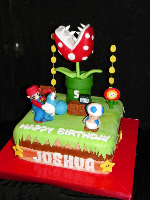 Mario Brothers Birthday Cake Birthday Cake Cake Ideas By Prayface