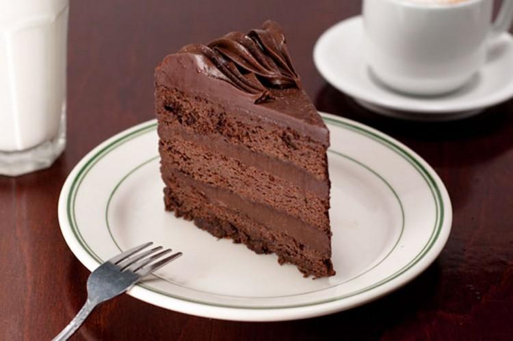 Marios Ristorante Triple Layer Chocolate Cake Picture in Chocolate Cake