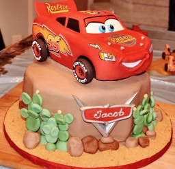 1024x1071px Mcqueen Cake For Birthday Picture in Birthday Cake