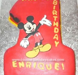 1024x1337px Mickey Mouse Birthday Cake Picture in Birthday Cake