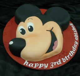 1024x1024px Mickey Mouse Cake For Birthday Picture in Birthday Cake