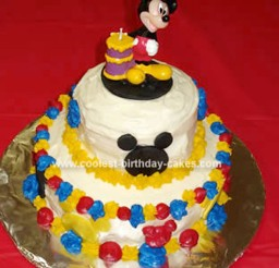 1024x1313px Mickey Mouse Clubhouse Birthday Cake Picture in Birthday Cake