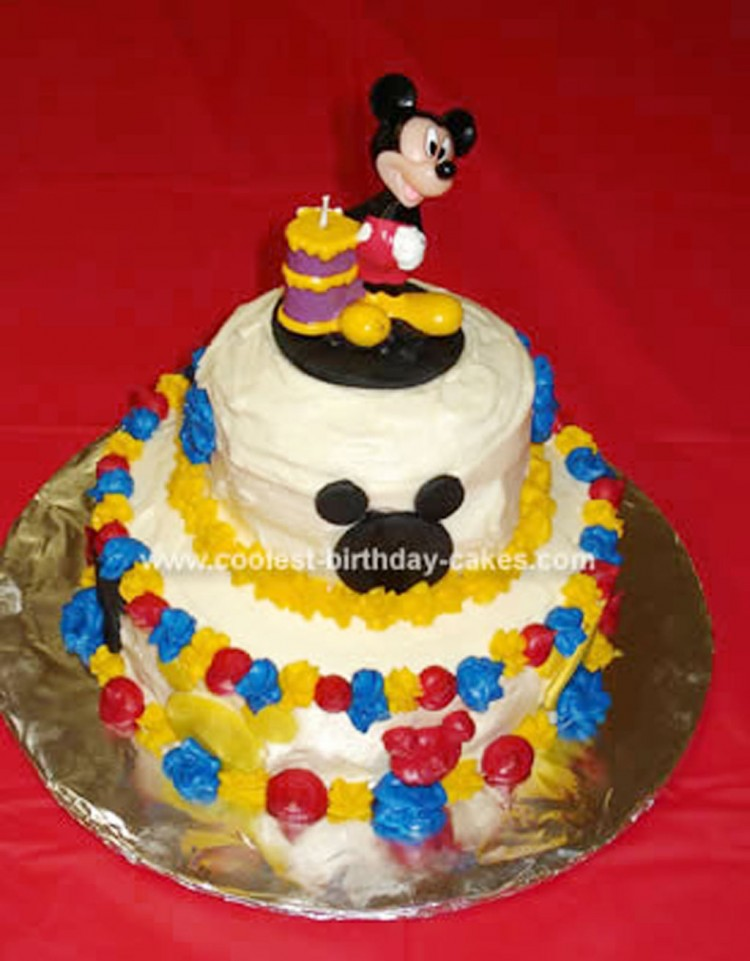 Mickey Mouse Clubhouse Birthday Cake Picture in Birthday Cake