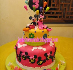 1024x1365px Mickey Mouse And Minnie Mouse Birthday Cake Picture in Birthday Cake