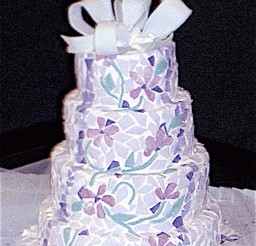 1024x1432px Midnight Sun Cakery Anchorage Wedding Cake Picture in Wedding Cake