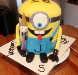 1024x1365px Minion Birthday Cakes Picture in Birthday Cake
